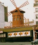 here it is: the inimitable MOULIN ROUGE in montmartre, paris, france
