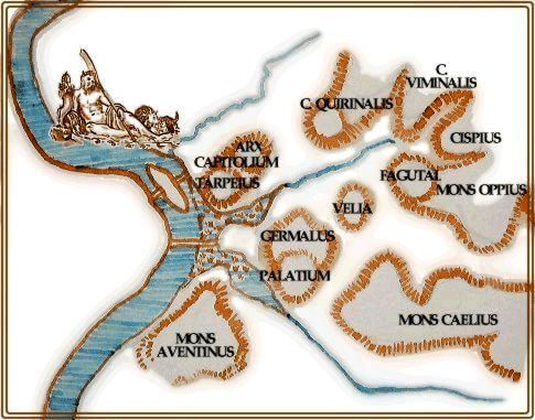 ancient rome maps etruscans