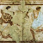 Etruscan frescoes triclinio lrg