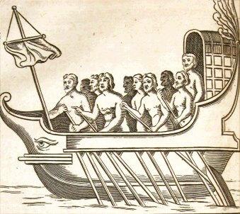 ancient roman ships
