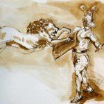 gladiator animals colosseum