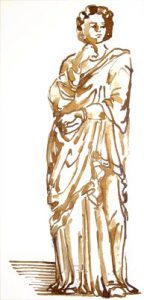 Ancient Roman Clothing: A women's Stola