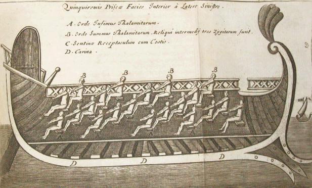 image: roman ship quinquireme