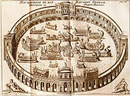 Ancient Rome naval games