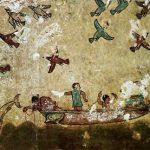 Etruscan fresco hunting fishing ok