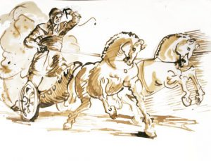 Ancient Roman chariot races are one of the most memorable ancient Roman inventions.