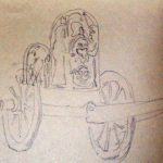 ancient etruscan chariot