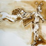 gladiator animals colosseum
