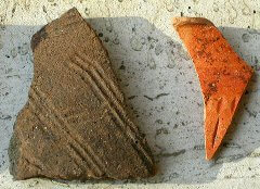 roman pottery coarse ware
